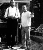 Charles Burnett (right) and Danny Glover
