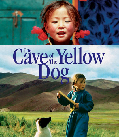 cave of the yellow dog The cave of the yellow dog (mongolian шар нохойн там) is a 2005 mongolian/german film written and directed by byambasuren davaathe film was submitted as mongolia's contender for the 2005.