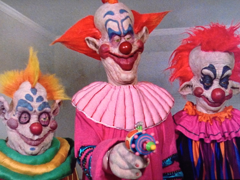 Killer klowns from outer space electric sheep for Space clowns