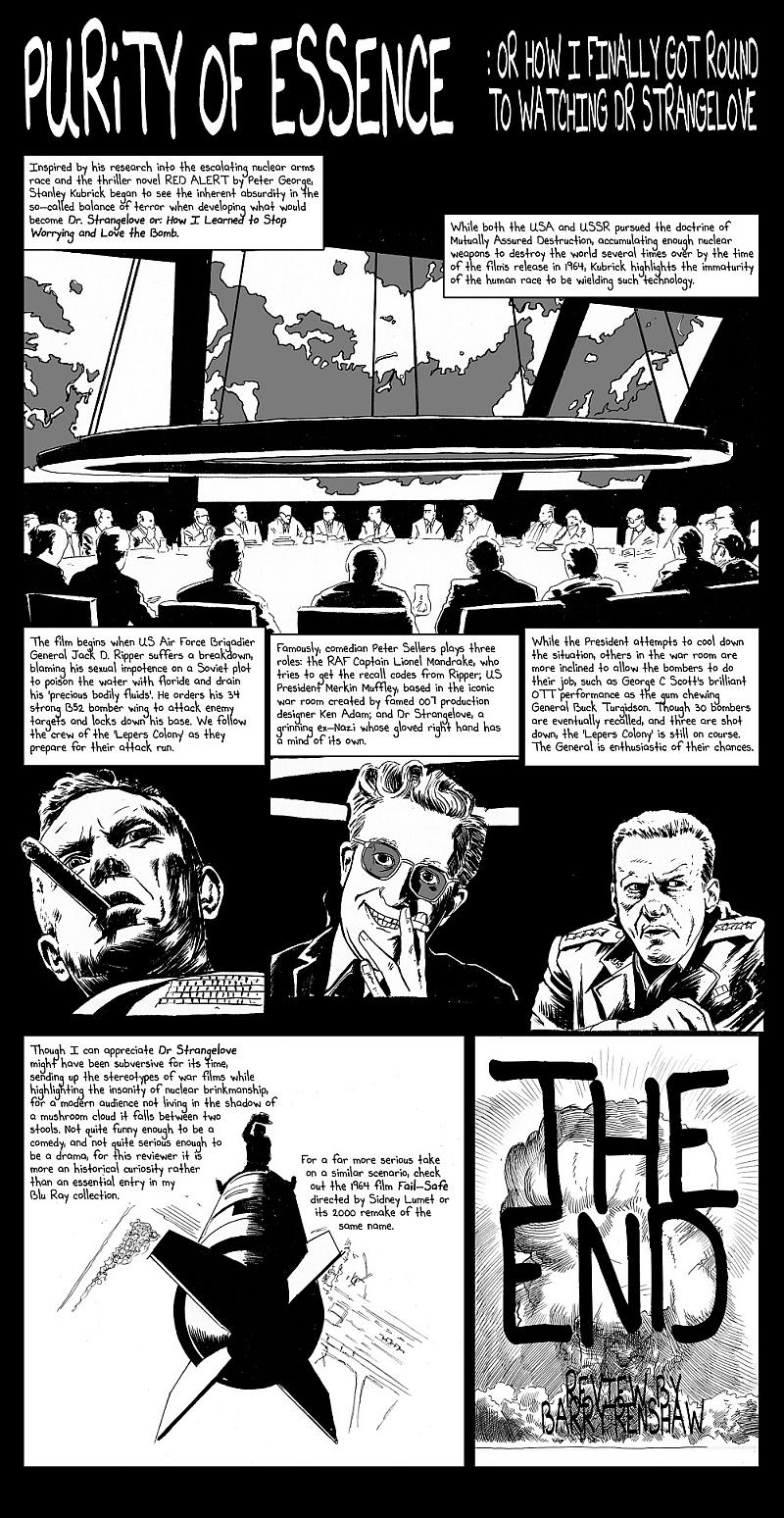 Movie Dr. Strangelove Review