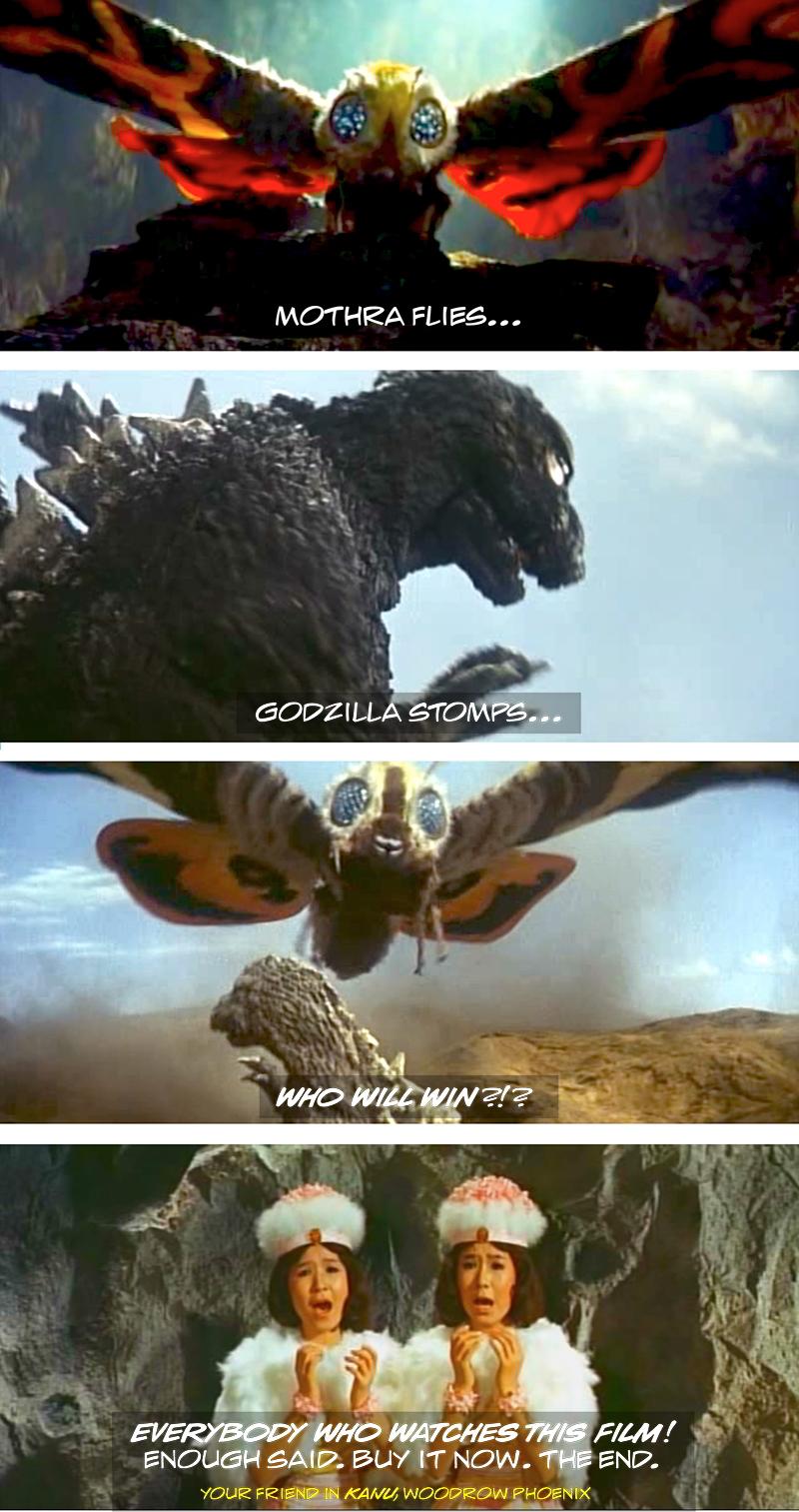 Godzilla Vs Mothra Electric Sheep Reviews
